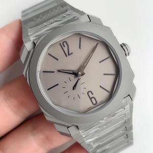 GB produz luxo relógio v2 versão atualizada 103297 maquinaria automática ultra-fina 9015 movimento preciso e estável designer relógios