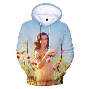 Katy Perry Mens Designer Hoodies Printemps Automne Imprimé 3D Hoodies Lâche Pulls 4XL Casual Pullover Vêtements pour hommes