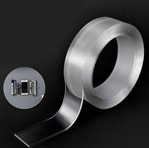ГОРЯЧЕЕ ИНСТРУМЕНТ Transparent Color Double Side Removable Gel Nano (без упаковки коробка) Pad рукоятка Tape Двухсторонняя Вязкость
