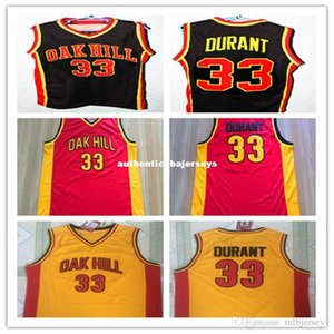 Ucuz 33. Kevin Durant Oak Hill Lisesi Throwbacks Basketbol Jersey, Custom Made Herhangi İsimler Donanma Jersey Retro Nakış