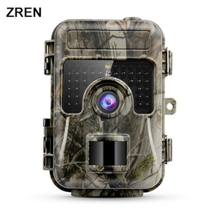 ZREN ZR662 Hunting Camera16MP 1080P 0.6S Motion Digital Traps Vision Wildlife infrared Hunting Trail Cameras hunt Chasse scout T191016