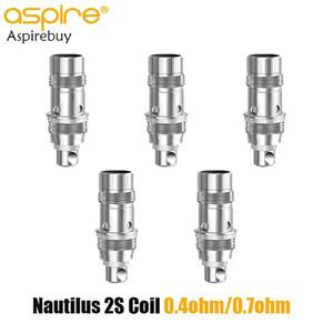 Aspire Nautilus 2S Coil 0.4ohm Nautilus 2S Mesh Coil 0.7ohm per Aspire Nautilus 2S serbatoio atomizzatore 100% originale