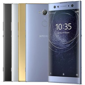 Refurbished Original Sony Xperia XA2 Ultra H3223 H4213 6.0 inch Octa Core 4GB RAM 32GB ROM 23MP NFC Quick Charge 3.0 4G LTE Phone DHL 5pcs