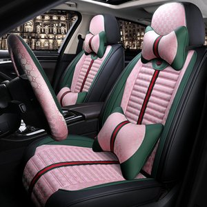 5 seats Universal Car seat covers for Ford Mondeo Focus2 3 Taurus Fiesta Edge Explorer kuga SUV Small Sedan auto Interior auto covers