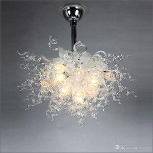 Incroyable décoratif Chihuly soufflée à la bouche en verre Lustre Éclairages Dale Chihuly style Lumières plafond de verre soufflé à la main pour Hôtel Lobby Décor