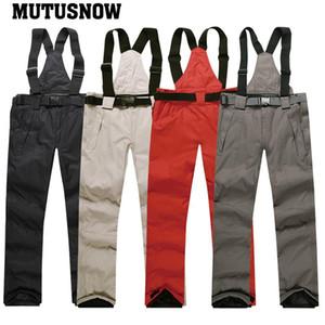 vêtements de ski hommes nouveaux en 2019 chauds pantalons d'hiver imperméables pantalon snowboard planche à neige en plein air usure 6 de ski de marque