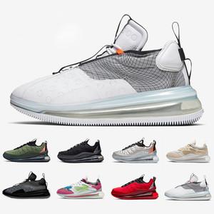 Hombres lobo gris Ondas 720 OBJ zapatillas color caqui desierto mineral Negro Rojo Universidad deportes de los hombres zapatillas de deporte tamaño 40-45