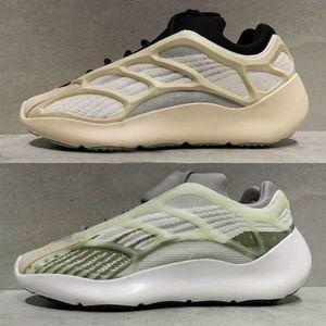 v2 impulsionar 350 Kanye West 700 V3 3M Cinzento Preto brilham no escuro Shoes Basquetebol Moda Athoetic Sports executando Sneakers
