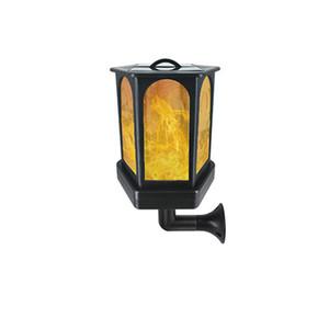 LED rétro lumière solaire Lanterne murale d'extérieur Lumière Jardin Jardin Paysage Lumières de jardin Jardin étanche Décoration 96LED