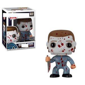 2020 FUNKO POP Moonlight Panic Michael Myers Hand Office Aberdeen action figure Model Toy #03 #622 kids party toy