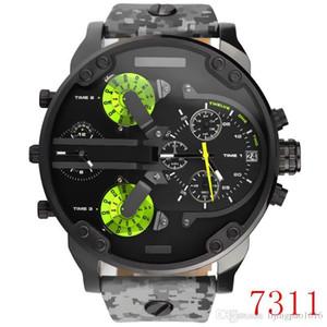 2020 higt kalite DZ7312 DZ7315 DZ7333 DZ7314 DZ7313 Spor askeri montres erkek yeni reloj büyük kadran gösterge saatler dizellerinin