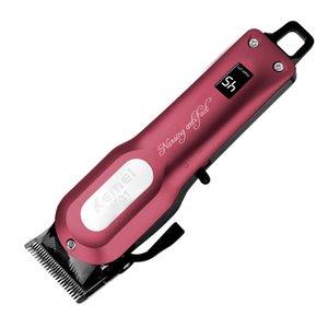 Kemei KM-1031 Professional Cordless перезаряжаемый лучшие профессиональные машинки для стрижки волос Триммер Мощный Razor Barber