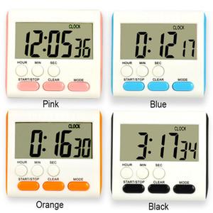 4 Renkler Dijital Mutfak Zamanlayıcı Pil BH2158 WCY olmadan Öğrenme Elektronik Hatırlatma Pişirme Zamanlayıcı Mini'yi pişirme Aşağı Yukarı LED Ekran sayın