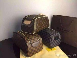 Paris Fashion Designer Sac de rangement sac à main Casual marque femmes sacs cosmétiques hommes Outdoor Voyage sac poche à glissière bourse en cuir
