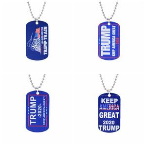 Trump ожерелье, Trump 2020 Keep America президент Подвеска, высокого качества из нержавеющей стали Tag для президента Выборы
