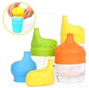 AM BILLIGSTEN!!! Sippy Lids Nippeldeckel für Kleinkinder / Babys Auslaufsicherer Silikonverschluss Sippy Lids Machen Sie jede Tasse