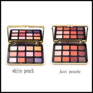 Rosto Apenas Peachy Or White Peach Eyeshadow Paleta 12 Cores da composição da sombra Velvet Matte Paleta de Sombra