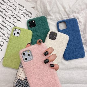 Soft Warm Plush Phone Cases For iphone 11 pro Max Fashion PU Back Case Cover For iphone XS Max XR X 6 6S 7 8 Plus eshop