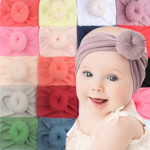 Hot-selling new baby headwear 23 color nylon wide child hair super soft sweet ring nylon stockings wide hai