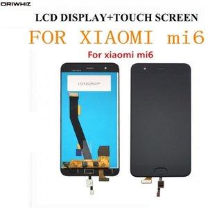 """ORIWHIZ для Xiaomi Mi6 LCD с дисплеем отпечатков пальцев + сенсорный экран 100% Новый FHD 5.15 """" замена сборки дигитайзера"""