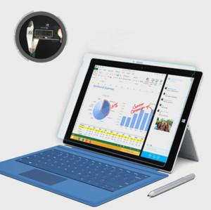 Microsoft Surface Pro3 4 5 6 Kitap GİT 9H Sertlik Premium temperli cam Ekran Koruyucu Film için