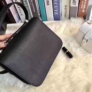 2019 новые модели кожа леди сумка, воловья кожа, h-кнопка тофу сумка новый стиль одно плечо косой стюардесса Бао Кан Сяофан одно плечо