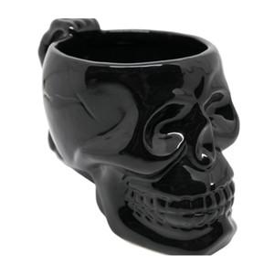 1pc Kupa Kupa Kafatası Stil Porselen Yaratıcı Komik Hediye Çay Kupası Seramik Su Kupası İçin Çay Kahve İçecekler T200327