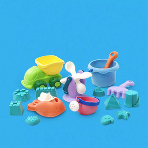 Xiaomi youpin BESTKIDS 16pc set Fun Cute Playing Game Toy Sea Beach Creature Shape Tools Sand Water Beach Indoor Outdoor Toy 3005948A5
