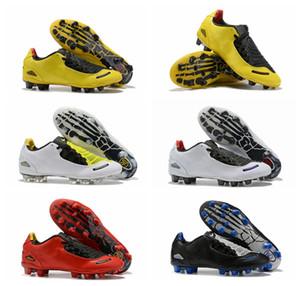 2019 de qualité supérieure nouvelles chaussures de football d'arrivée T 90 Laser I SE FG crampons de football hommes chaussures de football T90S Botas de futbol