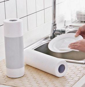 5 rollos de papel de cocina Aceite de absorción absorción de agua del rollo de papel de cocina desechable trapo toalla del envío libre de 255 mm * 250 mm FY6131