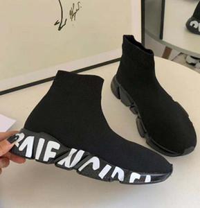 Moda Sock Sapatos velocidade sapatos femininos botas sapatilhas tênis instrutor s Runners Meias de corrida sapato preto homem mulher sapato M4