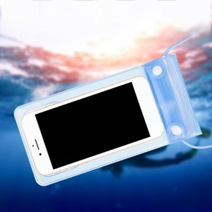 Sealed Waterproof Swimming Mobile Phone Case Cover Universal Smartphone Pouch Wallet Packing Bag With Lanyard