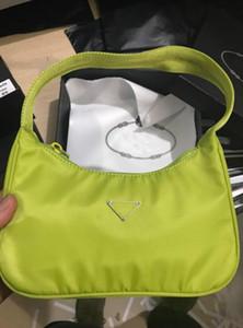 Yeni marka Kadın Çanta Naylon Çanta Hilal Çanta Maç Kumaş Floresan Büyük Çantalar Cüzdan Bez Yaz Çanta