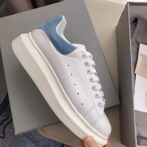 Newest 2019 Promotion Womens Shoe Platform Casual Sneakers Luxury Designers Shoes Leather Jointed Dress Shoe Sports Sneaker