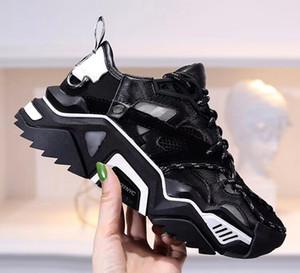 Zapatos ocasionales reflectantes con cordones Diseñador Confort Niña bonita Zapatillas de deporte Zapatos de cuero ocasionales Zapatillas de deporte para mujer y hombre Extremadamente duraderas