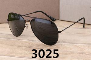 금속 판매 새로운 파일럿 선글라스 수지 최고의 클래식 선글라스 눈 보호 도매 브랜드 UV400 58mm ofxqk