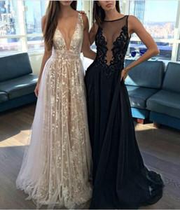 Новое платье кружева глубокий V dresse длинные юбки многослойная вышивка марля платье свадебное платье подиум ночной клуб платья длинные юбки взлетно-посадочной полосы