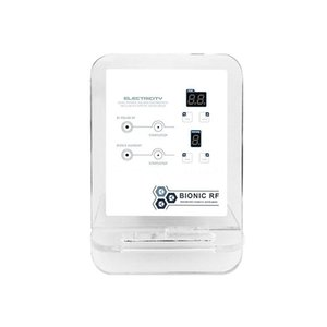 Portátil 2 em 1 bipolar RF quadrupolo rf removedor de rugas Face Lift rejuvenescimento da pele para casa e salão de beleza