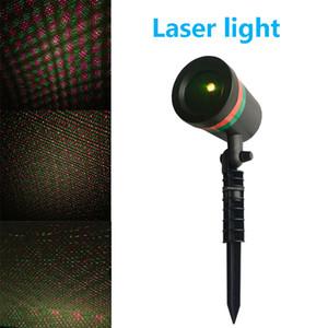 Outdoor lumières scène Firefly Laser étanche Paysage Rouge Vert Projecteur de Noël Jardin Star Sky Lawn Lampes DHL