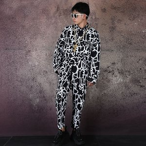 New Male Plus Size Loose Shirt Customizable Blouse Men Streetwear Hip Hop Fashion Print Long Sleeve Casual Cargo Shirt