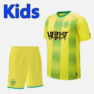2020 FC Nantes специальных детям издания футбол наборы Jerseys 20/21 FC Nantes Mens Sala молодежи специального выпуска Футбол комплекты бадминтон одежда