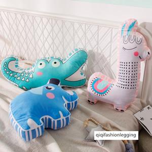 양면 스테레오 항공기 동물 베개 오목 모양 어린이 방 장식 소년과 아기의 수면 인형 인
