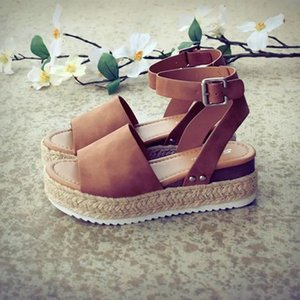 Scarpe Donna Pompe Tacchi alti Sandali Estate 2019 Flop Chaussures Femme Platform Sandali 2019 Sandalia Feminina