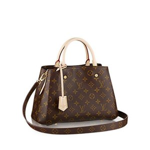 Borse Designer Tote MONTAIGNE Donne Borse Tracolle cuoio di lusso borsa con stampa floreale Borse Crossbody grande shopper bag Laptop Bag Affari