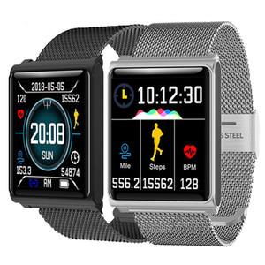 N98 스마트계 산소의 혈압 심박수 감시자 똑똑한 시계 팔찌 시계 피트니스 스마트 손목 시계 추적자를 위한 아이폰 Andorid