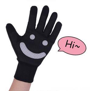Gülen antiroad öfke spor eldiven su geçirmez yansıtıcı yalıtım sürme eldiven mutlu binme dört mevsim evrensel Bisiklet Koruyucu G