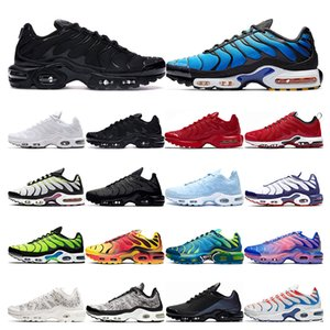 TN plus se running shoes mens White black Hyper Psychic blue deluxe 3D Glasses Breathable fashion sports sneakers trainers outdoor fashion