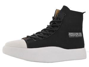 Para hombre Y3 Bashyo Bota lona para hombre Calzado deportivo Yohji Yamamoto patín de zapatos Hombres Marca cargadores de los hombres masculino Yohji Yamamoto Niños zapatillas de deporte zapatilla de deporte