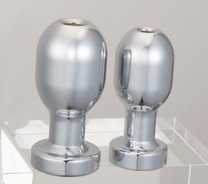 Алюминиевый анальный гей Plug Butt Plug Anal Sex Toys Dilator очистки сплава Hmldc