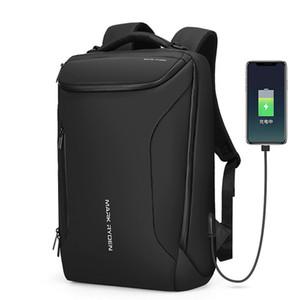 Wasserdichter Rucksack markryden Anti-Theft-Rucksack für 15,6-Zoll-Laptop für Männer, moderne Rucksack mit großer Kapazität (schwarz)